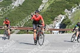 Photo #1585684 | 23-07-2021 09:46 | Passo Dello Stelvio - Waterfall BICYCLE riders