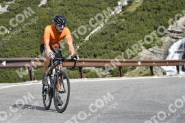 Foto #1458215   03-07-2021 09:22   Passo Dello Stelvio - Waterfall BICYCLE riders