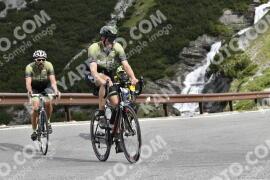 Photo #1496461 | 07-07-2021 09:28 | Passo Dello Stelvio - Waterfall BICYCLE riders